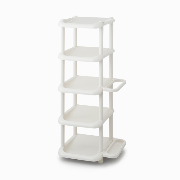 ライクイット シューズストレージ5段 アイボリー like-it Shoes Storage