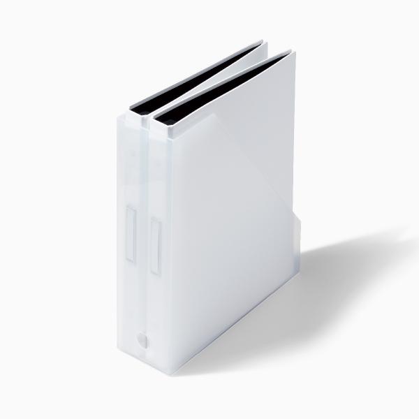 ライクイット A4ファイルボックス 2個組 オールホワイト like-it MX-19