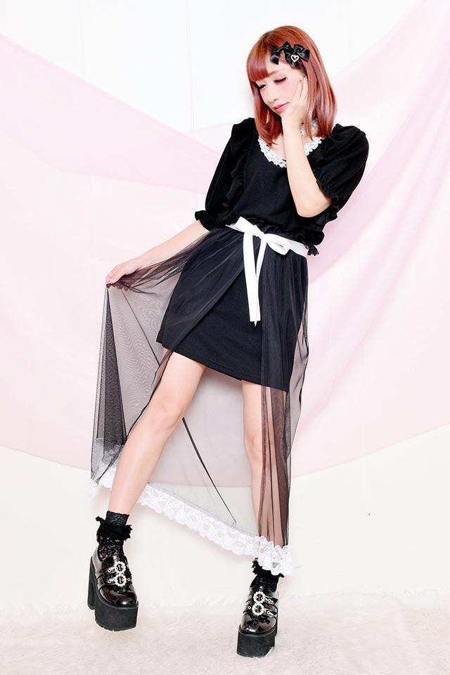 【Princess Melody】♪Dollyマキシワンピ♪ - ブラック size-F