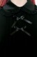 【MA*RS】2つリボンブラウス - ブラック size-F