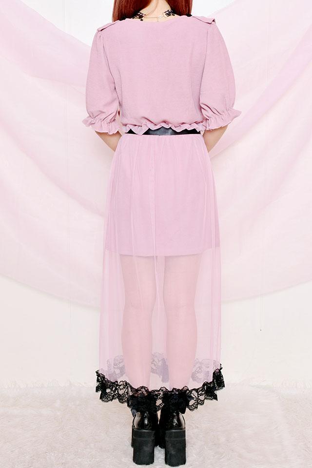 【Princess Melody】♪Dollyマキシワンピ♪ - ピンク size-F