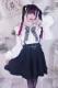 【MA*RS】ハートバックルフレアスカート - ブラック size-F