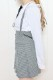 【MA*RS】ZIPプリーツスカート - グレー size-F