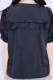 【MA*RS】クロスリボン付セーラーブラウス - ブラック size-F