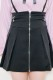 【MA*RS】ZIPプリーツスカート - ブラック size-F