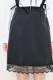 【MA*RS】スピンドルストラップジャンスカ - ブラック size-F