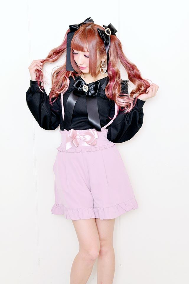 【MA*RS】布帛セーラー襟付きTOPS - ブラック size-F
