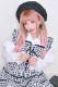 【Princess Melody】♪ギンガムチェック&無地おりぼんタイブラウス♪ - ホワイト size-F