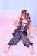 【Princess Melody】♪【2点SET】プリンセスおりぼん柄ルームウェア♪ - ブラック size-F
