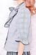 【Princess Melody】♪グレンチェックびっぐおりぼんブラウス♪ - ブラック size-F