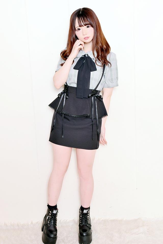 【MA*RS】ペプラムタイトスカート - ブラック size-F