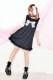 【Princess Melody】♪レースおりぼん ひめTシャツワンピ♪ - ブラック size-F