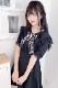 【Princess Melody】♪パールハートレースおりぼんクリップ♪ - WHT/ブラック size-F