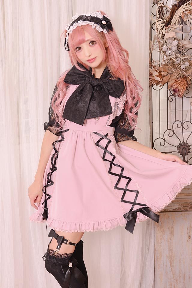 【Princess Melody】♪おりぼん型ガーターベルト♪ - ブラック size-F
