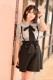 【MA*RS】フロントBIGリボンスカート - ブラック size-F