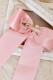【Princess Melody】♪ゆらゆらハートビジューおりぼんクリップ♪ - ピンク size-F