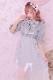 【Princess Melody】♪グレンチェック×ロングチュールジャンスカ♪ - ピンク size-F