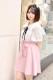 ☆62%OFF☆【MA*RS】フロントBIGリボンスカート - ピンク size-F