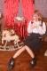 ☆28%OFF☆【Princess Melody】♪BIGパール×レース重ねTOPS♪ - ホワイト size-F