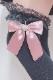 【Princess Melody】♪きらきらパールハート付きニーハイ♪ - ピンク size-F