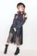 【MA*RS】衿レース肩あきシャツ - ブラック size-F
