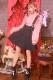 【Princess Melody】♪パールハートバックル付きフレアジャンスカ♪ - ブラック size-F