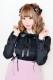 【MA*RS】裾レースヨークブラウス - ブラック size-F