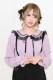 【MA*RS】セーラー襟リボンブラウス - ピンク size-F