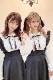 【MA*RS】三角襟セーラーブラウス(2色リボン付) - ホワイト size-F