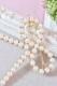 【Princess Melody】♪プリンセスおりぼんヘアピン♪ - パール size-F