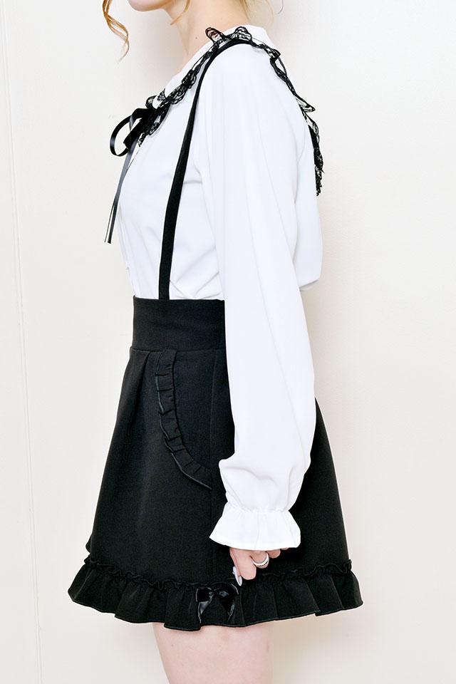 【MA*RS】メローリボンショートパンツ - ブラック size-F