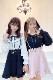【MA*RS】フリルドットチュールブラウス - ブラック size-F