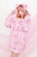 【Princess Melody】♪おりぼんくまちゃんZIPパーカー♪ - ピンク size-F