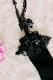 【Princess Melody】♪ダブルおりぼんガーターニーハイ♪ - ブラック size-F