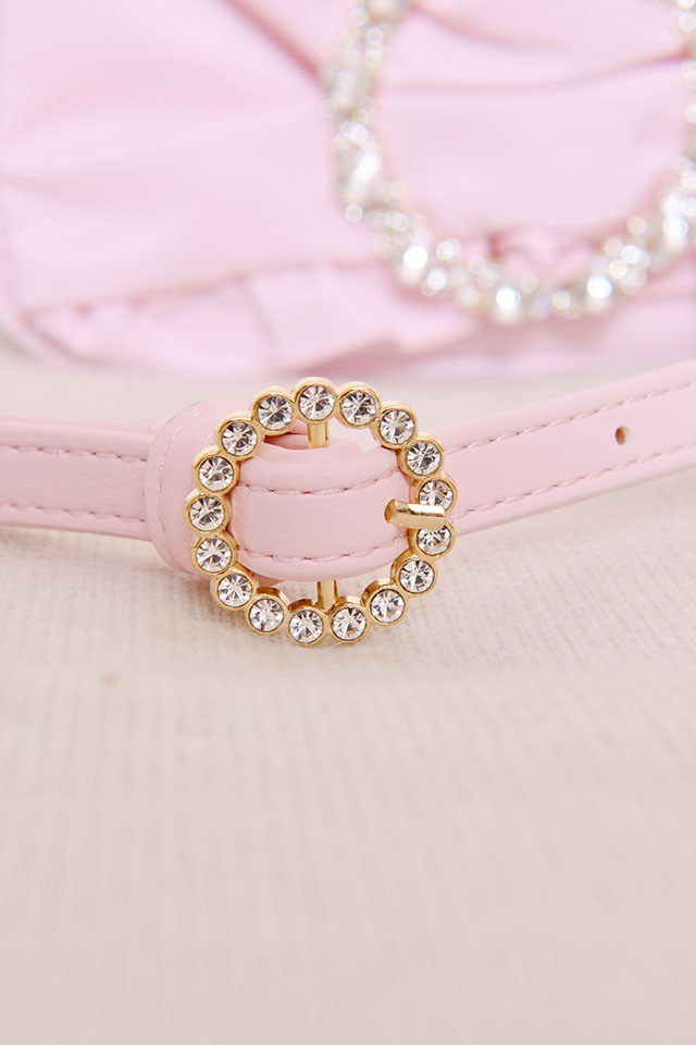 ☆29%OFF☆【Princess Melody】♪きらきらリングおりぼんポシェット♪ - ピンク size-F