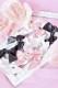 【Princess Melody】♪ぷちおりぼんクリップ 3個SET♪ - ピンク size-F