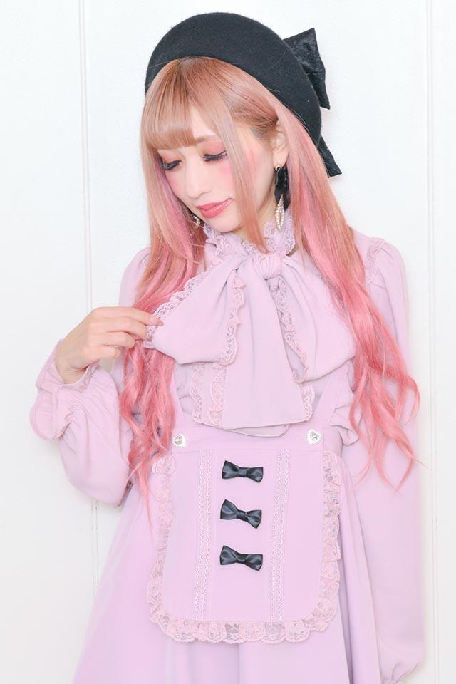 【Princess Melody】♪レース付きびっくおりぼんBL♪ - ピンク size-F