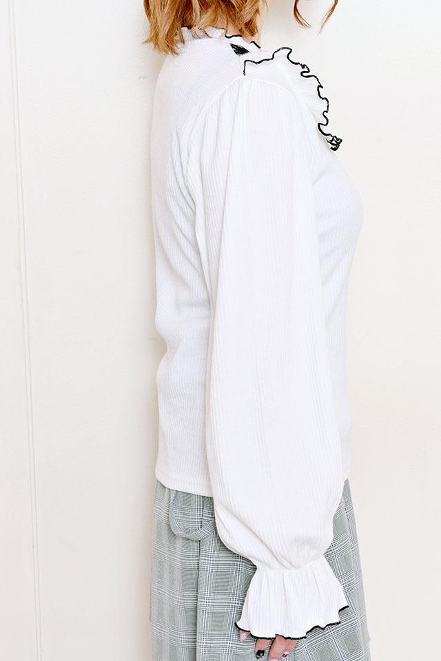 【MA*RS】レースヨークTOPS - ホワイト size-F