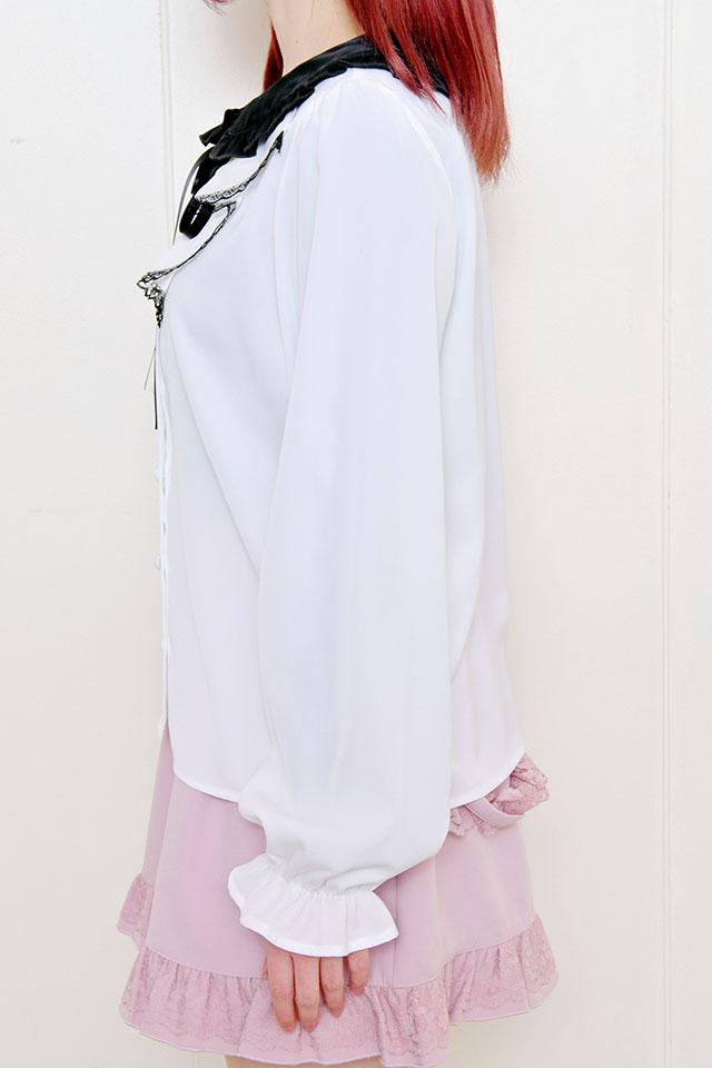 【MA*RS】ラッフルブラウス - ホワイト size-F