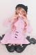 ☆25%OFF☆【Princess Melody】♪エプロン付きフレアジャンスカ♪ - ピンク size-F