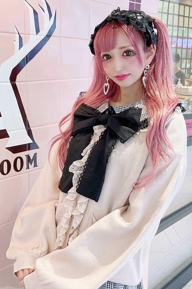 【Princess Melody】♪レースレースカーデ♪ - ピンク size-F