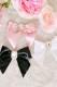 【Princess Melody】♪ビックビジュープリティおりぼんクリップ♪ - ブラック size-F