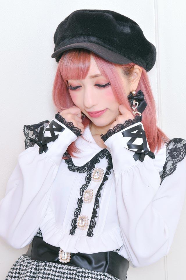【Princess Melody】♪プリンセスヨークプルオーバーブラウス♪ - ホワイト size-F