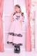 【Princess Melody】♪ハートエプロンロングジャンスカ♪ - ピンク size-F