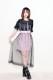 ☆62%OFF☆【MA*RS】チュールサイドバックルスカート - ピンク size-F