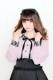 【MA*RS】レースクレリックブラウス - ピンク size-F
