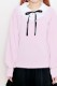 【MA*RS】丸衿ダブルオーガンジーフリルTOPS - ピンク size-F