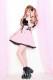 【Princess Melody】♪レースアップDollyジャンスカ♪ - ピンク size-F