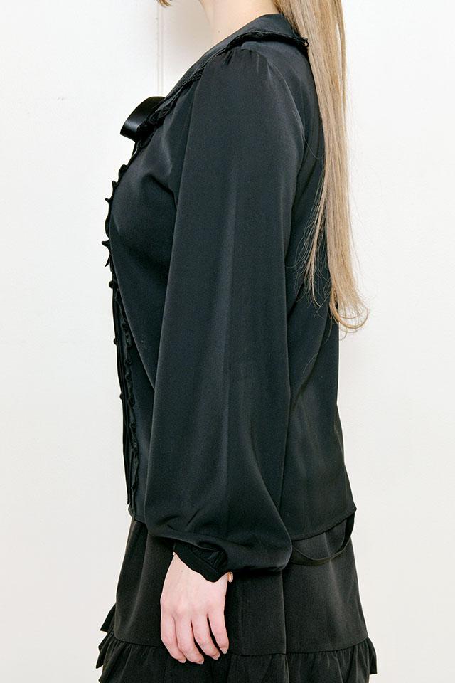 【MA*RS】バックリボンブラウス - ブラック size-F