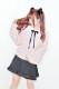 【MA*RS】キャンデイスリーブケーブルニット - ピンク size-F